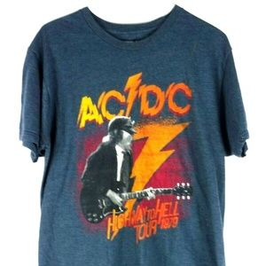 Other - AC/DC Men's Highway To Hell 1979 Concert Tour T